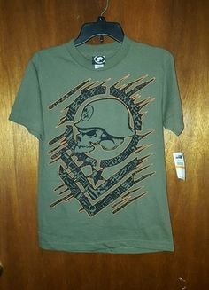 Buy my item on #vinted http://www.vinted.com/guys/t-shirts/16829344-metal-mulisha-mens-green-top