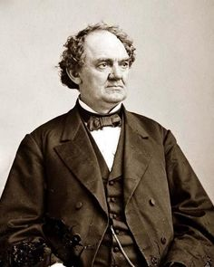 """Phineas Taylor Barnum (1810-1891) was an American showman, businessman, scam artist and entertainer, remembered for promoting celebrated hoaxes and for founding the circus that became the Ringling Bros. and Barnum & Bailey Circus.  His successes may have made him the first """"show business"""" millionaire.  Although Barnum was also an author, publisher, philanthropist, and for some time a politician, he said of himself, """"I am a showman by profession...and all the gilding shall make nothing else o..."""