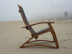 Wine Barrel Stave Chair by TCBarrelWorks on Etsy