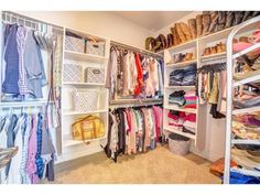 Exclusive tour of my closet!