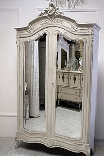 mirrors!...  I JUST LOVE THE ARMOIRE.
