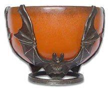 Art Deco Pierre D'avesn bats bowl