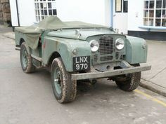 A cracking, Series I Land-Rover, 1952 Land Rover Serie 1, Land Rover Defender, Vintage Jeep, Go Car, Bug Out Vehicle, Off Road, Van Camping, Land Rovers, Range Rover