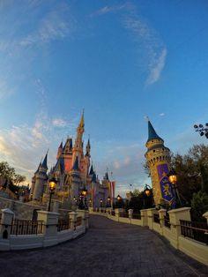 Cinderella Castle Shot on a GoPro