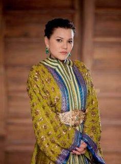 Moroccan Caftan Royal on a royal princess
