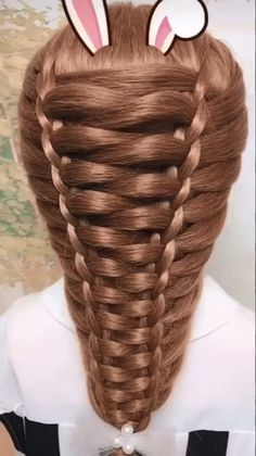 Hairstyle Tutorial # simple Braids with weave Hairstyle Tutorial Easy Hairstyles For Long Hair, Braids For Long Hair, Cute Hairstyles, Wedding Hairstyles, Braids For Girls, Girls Hairdos, Braided Bun Hairstyles, Fashion Hairstyles, Hairstyles Videos