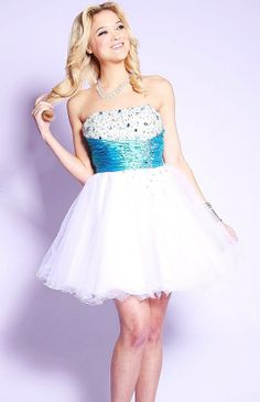 Prom Dresses, Strapless Formal Dress Size S/6 for Prom, Homecoming,Sweet 16 or Any Special Occasion