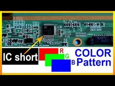In this video we show how to fix led tv screen, RGB pattern in every second their color has changed with scalar ic , Sometimes with software error, Resolutio. Sony Led Tv, Engine Control Unit, Double Image, Tv Panel, Electronic Circuit Projects, Computer Basics, Tv Display, Electronic Schematics, Tv Services