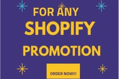 I will do shopify marketing and promotion, klaviyo email marketing facebook ads – FiverrBox Email Marketing Campaign, Facebook Marketing, Online Marketing, Instagram Promotion, Growing Your Business, Web Development, Ads