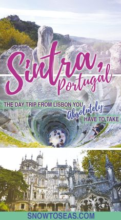 Visit Sintra, Portugal, as a day trip from Lisbon.