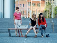 "Boston's Solar-Powered ""Soofa"" Benches Charge Devices and Monitor the Local Environment!  Read more: Boston's Solar-Powered ""Soofa"" Benches Charge Devices and Monitor the Local Environment! 