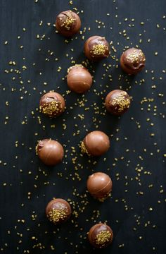 Holiday Pumpkin Spice Tarts made with LINDOR Milk Chocolate Truffles