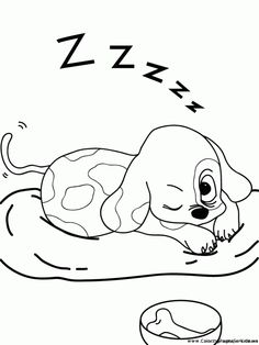 newborn puppy coloring pages to