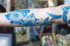 Photos et modèles de Tatouages Bleu - Site de photostatouages : Modèles et photos de tatouages !
