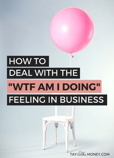 "You're coasting and everything in business is running smoothly... until something derails the vision leaving you a little lost. Here's how to combat the ""wtf am I doing"" feeling before it sabotages your freelance business."