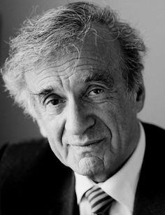 Elie Wiesel - those eyes tell a story - a story no one wants to hear - a story we should all know