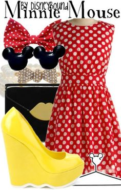 Buy it here! This post is dedicated to Danielle, a 15-year old DisneyBound fanwho suffers from a rare Kidney disease called CQ1 Neperopathy, who requested a Minnie Mouse look. Hope this brightens your day! 3 3 3