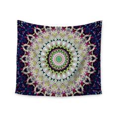 "Iris Lehnhardt ""Summer of Folklore"" Pink Navy Wall Tapestry - KESS InHouse"