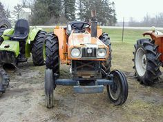 Kubota L2402 tractor salvaged for used parts. This unit is available at All States Ag Parts in Black Creek, WI. Call 877-530-2010 parts. Unit ID#: EQ-25292. The photo depicts the equipment in the condition it arrived at our salvage yard. Parts shown may or may not still be available. http://www.TractorPartsASAP.com