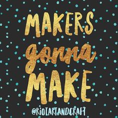 We 💛 makers # your creations with to be featured 🎨 Arts And Crafts, Instagram Posts, How To Make, Gift Crafts, Art And Craft, Art Crafts, Crafting