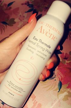 Hydration in a bottle from Avene Natural Skin Care, Sensitive Skin, Shampoo, Skincare, Wine, Drinks, Bottle, Beverages, Skin Care