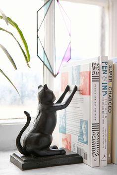 Cat Bookend Set ($42)