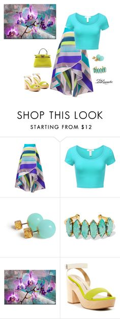 """""""Cruise wear!"""" by diane-711 ❤ liked on Polyvore featuring Ginger & Smart, J.TOMSON, Elizabeth Cole, Ready2hangart, Chinese Laundry and Fendi"""