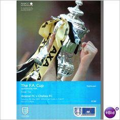 Arsenal v Chelsea 04/05/2002 FA Cup Final Football Programme Sale
