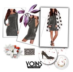 """YOINS 1"" by lejla-cergic ❤ liked on Polyvore featuring polyvoreeditorial and yoins"