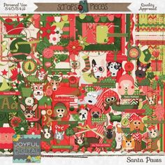 Santa Paws: The Christmas Kit by Joyful Expressions