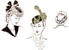 How to Make a 1940s Pillbox Tilt Hat