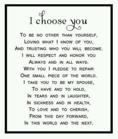 Wedding vows that make you cry best photos wedding vows crying lovely vows a twist on the traditional by phguy junglespirit Gallery