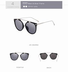 Shop for everything but the ordinary. More than sellers offering you a vibrant collection of fashion, collectibles, home decor, and more. Retro Design, Cat Eye Sunglasses, Sunglasses Women, Silver Framed Mirror, Vintage Cat, The Ordinary, Black Silver, Lens, Woman