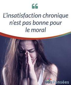 L'insatisfaction chronique n'est pas bonne pour le moral  Avez-vous déjà eu l'impression que quoi que vous fassiez, ce n'est jamais assez ? Pensez-vous que vous pourriez avoir mieux fait ? Exigez-vous beaucoup de vous-même ? Vous #comparez-vous constamment ? #L'insatisfaction chronique est toxique et nous conduit au #perfectionnisme et à l'exigence.  #Psychologie