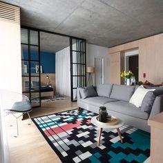 "Romanian designers champion ""clumsy, simple but honest"" furniture Furniture, Apartment Design, Interior Design, Interior Spaces, Home Decor, House Interior, Contemporary Rugs, Doors Interior, Apartment Interior"