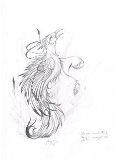 Black phoenix tattoos | Like Tattoo