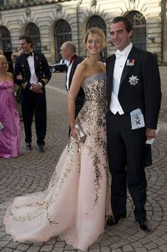 Tatiana Blatnik | Tatiana Blatnik med prins Nikolaos. Ah.