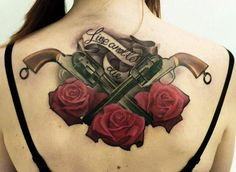 Old School Tattoo by Denis Sivak - http://worldtattoosgallery.com/old-school-tattoo-by-denis-sivak/