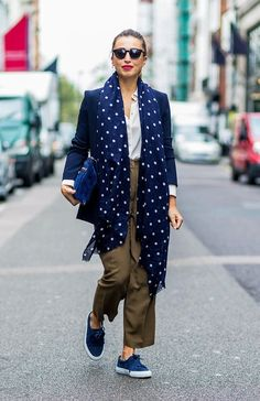 43 of the Most Amazing Street Style Looks From London Fashion Week via @WhoWhatWearUK
