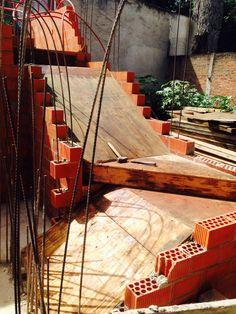 Cimbrado de escaleras.