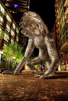 Silver beast by gorbould, via Flickr