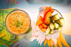 Red pepper and sunflower seed dip #eatingwell