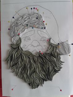 Quilling santa BY Branka Miletić! Paper Quilling Patterns, Quilling 3d, Quilling Ideas, Quilling Christmas, Christmas Snowflakes, Christmas Things, Diy And Crafts, Paper Crafts, Quilling Tutorial