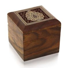 Rings Toe Rings Earrings Cufflinks Box Wooden For Small Jewelry Gifts