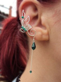 Ear cuffs Late spring by StrangeThingJewelry on Etsy, $18.00