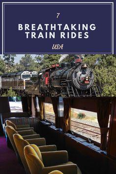 Breathtaking #Trainrides in the USA