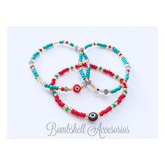 •Proteccion• #bombshellaccesorios #handmadejewelry #accessories #protection #eyes