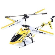 Safeplus S107G 3 Channel Infrared Remote Control Helicopter Flying Toy Builtin Gyroscope Yellow *** You can get additional details at the image link.Note:It is affiliate link to Amazon.
