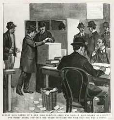 """n the late 1800s, Mary Anderson, better known as """"Murray Hall,"""" lived much of her adult life as a male politician, bail bondsman and director of her own employment agency. As a member of the General Committee of Tammany Hall, she registered and voted in primary elections at a time when women weren't allowed such right"""