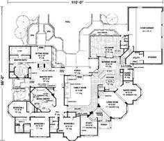 Main Floor Plan: 58-110